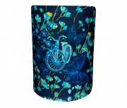 Bandana Flores Que Voam Azul Muhu