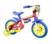 Bicicleta Infantil Nathor Aro 12 Fireman