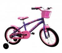 Bicicleta Wendy com adesivo Frozen Aro 16