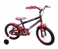 Bicicleta Wendy com adesivo Spider Man Aro 16