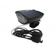Farol e Sinalizador Sonoro Recarregável USB