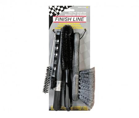 Kit de Escovas Brush Set Finish Line