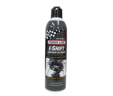 Limpador de Câmbio Eletrônico E-Shift Finish Line 475ml