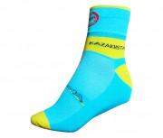 Meia de Ciclismo Astana Refactor Azul Piscina