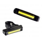 Vista Light dianteiro recarregável USB 100 Lúmens Cometa