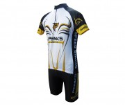 Conjunto Penks Speed Biking Branco Manga Curta