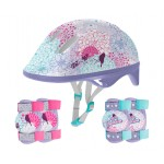 Kit de Proteção para Skate Infantil Sports Fashion Lilás