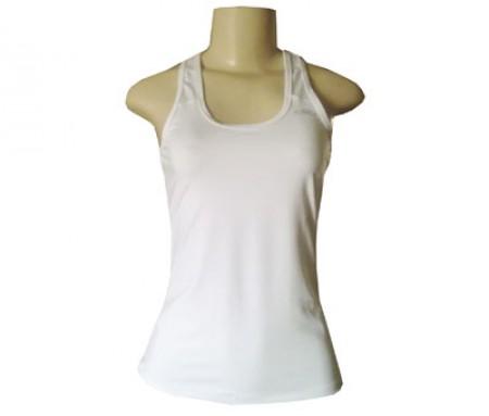 Regata Feminina Olympikus Fitness Basic Branca