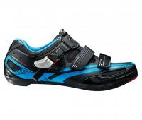 Sapatilha Shimano Speed SH-R107L Preta e Azul