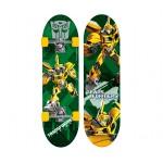 Skate Infantil Transformers Prime Verde